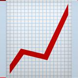 Emoji de tabla de crecimiento